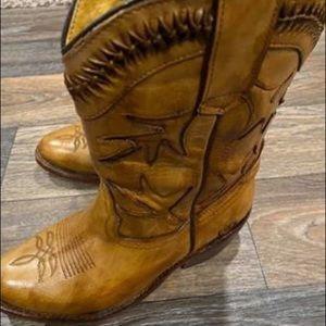 Bed Stu Shoes - Bed Stu Cowboy Boots Size 7.5